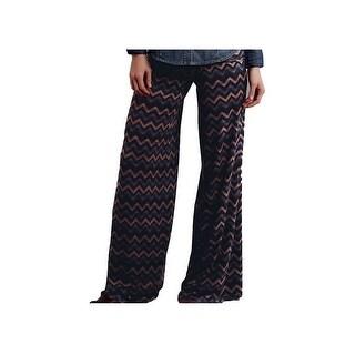 Stetson Western Pants Womens Cute Chevron Brown