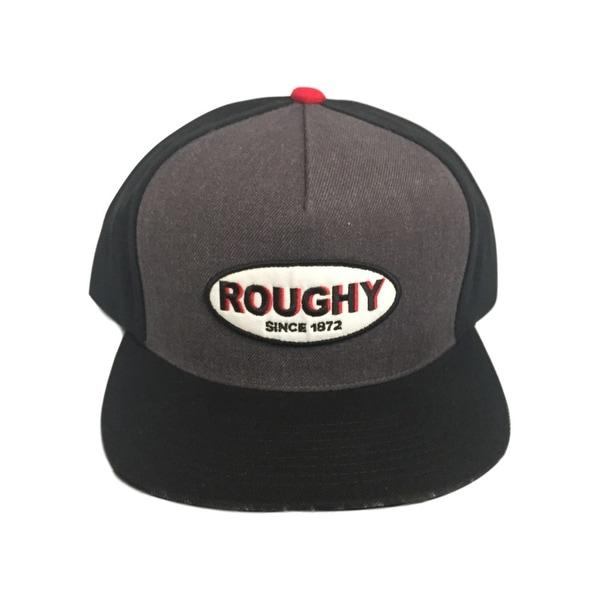 Shop HOOey Hat Mens Baseball HOOey Roughy Patch One Size Black ... c64e8ba60eee