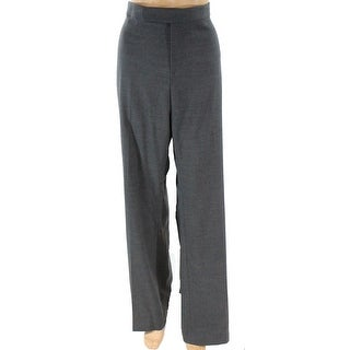 Lauren by Ralph Lauren NEW Gray Womens Size 2 Tab Front Dress Pants