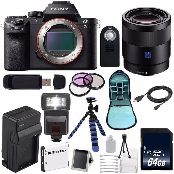 Sony Alpha a7S II a7S Mark II a7SII ILCE7SM2/B Mirrorless Digital Camera (International Model no Warranty) 6AVE Bundle 88
