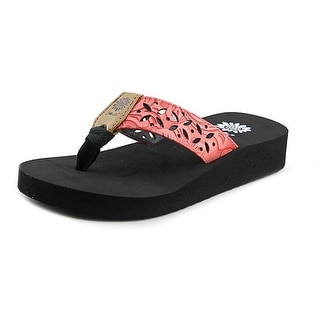 Yellow Box Damara II Youth Open Toe Synthetic Thong Sandal