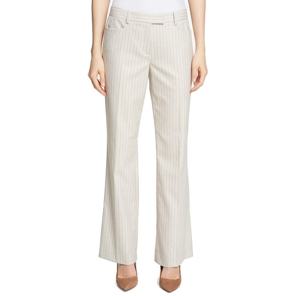 f308e3f8 Shop Tommy Hilfiger Womens Pinstriped Bootcut Dress Pants - On Sale - Free  Shipping On Orders Over $45 - Overstock - 26992579