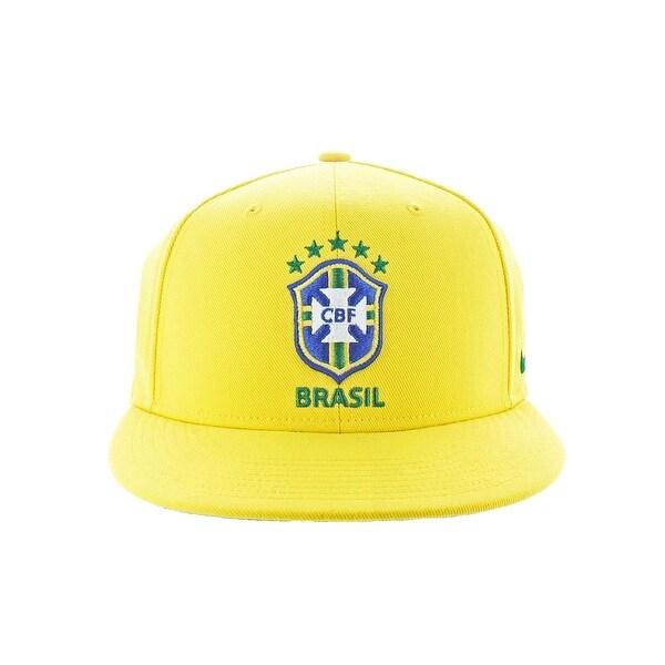 Shop Nike Mens CBF Brasil Snapback Hat Soccer Sport - O S - Free ... 8b0f479450d0