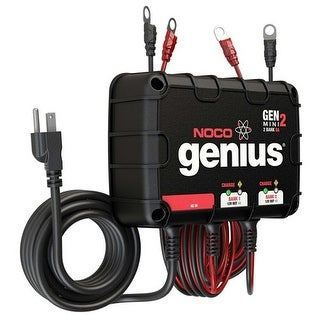 Noco Genius GEN Mini 2 8A Onboard Battery Charger - 2 Bank Mini 2 8A Onboard Battery Charger