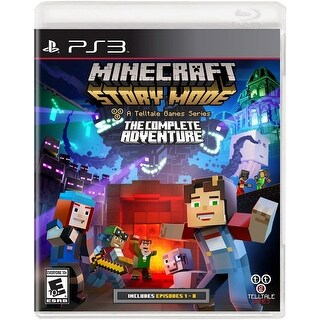 Minecraft Story Mode The Complete Adventure - PlayStation 3