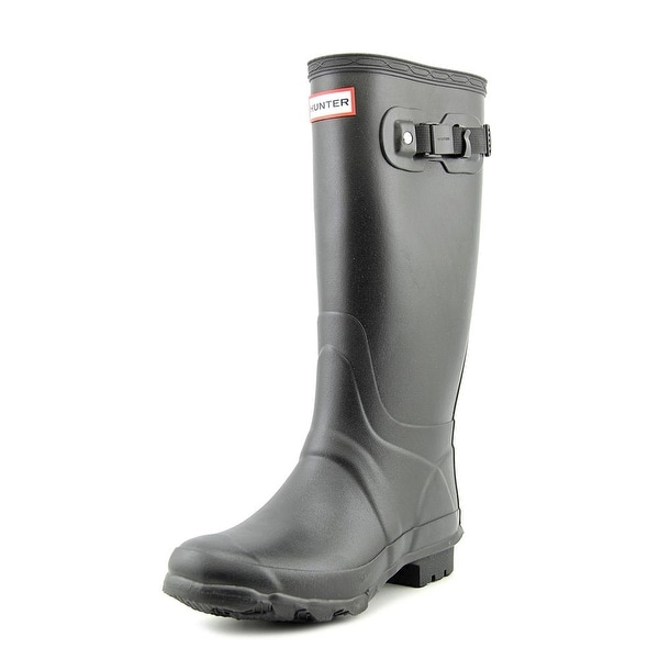 Hunter Original Huntress Women  Round Toe Synthetic Black Rain Boot