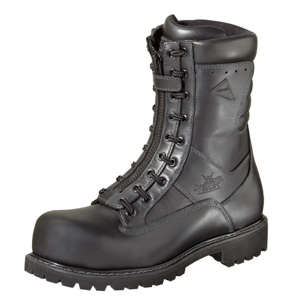 e0d5bc9f5c1 Thorogood Work Boots Mens Power EMS Wildland CT Black 804-6379