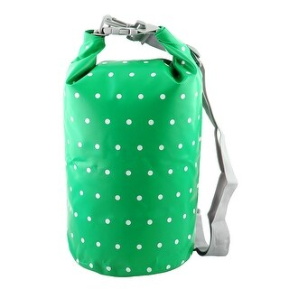 SAFEBET Authorized Water Resistant Bag Dry Sack Green 20L for Rafting Camping