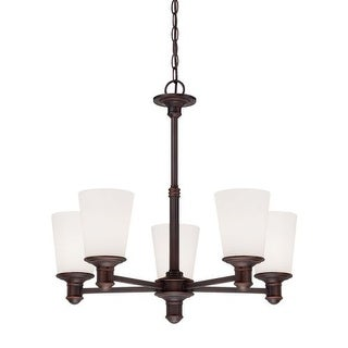 Millennium Lighting 2155 Cimmaron 5 Light 1 Tier Chandelier