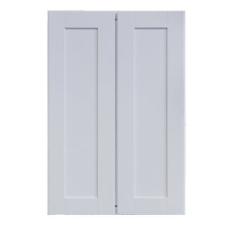 "Link to Sunny Wood SHP2436T-A Shaker Hill 24"" Wide x 36"" High Double Door - Designer White Similar Items in Kitchen"