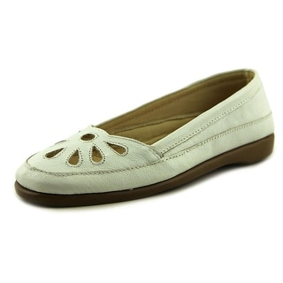 The Tog Shop Daisy Flats Women W Round Toe Leather Flats