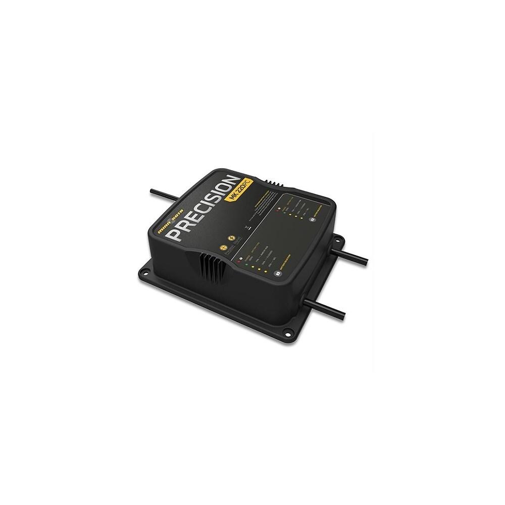 Minn Kota MK220PC 2 Bank  On Board Battery Charger W// Unparrallel Durability New