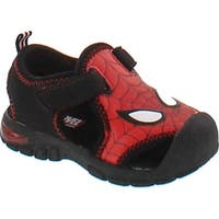 Marvel Spiderman Sps610 Boys' Infant-Toddler Sandal - Red