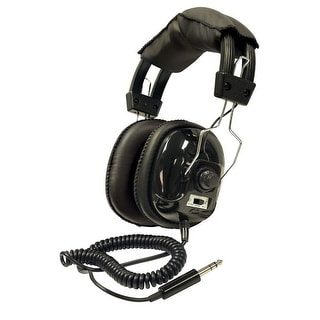 Bounty Hunter Metal Detector Binaural Headphone - Wired Connectivity - Stereo - Over-The-Head Head-W