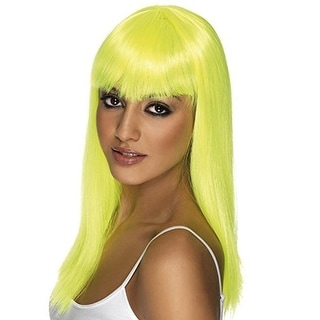 Smiffy's Womens Glamourama Halloween Party Costume Wig - o/s