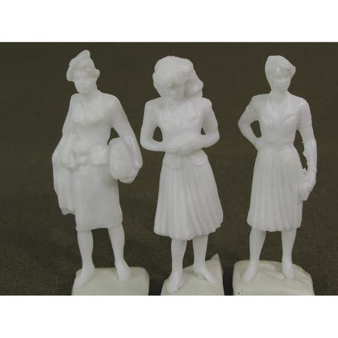 Wee scapes ws00372 architectural model human figures - 1/2 female 3-pack