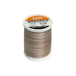 713 4103 Sulky Blendables Thread 12wt 330yd Pansies