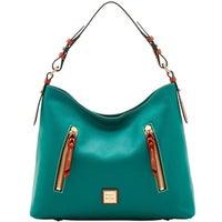 05452fcb0e Dooney & Bourke Pebble Grain Cooper Hobo Shoulder Bag (Introduced by Dooney  & Bourke in