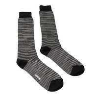Missoni GM00CMU4948 0001 Gray/Black Knee Length Socks - Grey