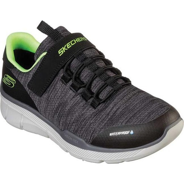657f86356e20 Skechers Boys  x27  Relaxed Fit Equalizer 3.0 Aquablast Trainer  Black Charcoal