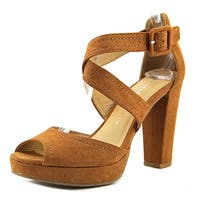 Chinese Laundry Womens All Access Peep Toe Ankle Strap Classic Pumps