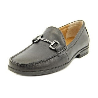 Nunn Bush Glendale Bit Men Moc Toe Leather Black Loafer