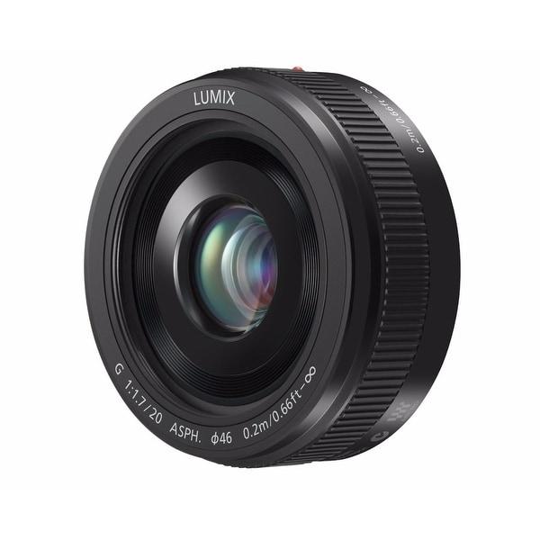 Panasonic LUMIX G 20mm f/1.7 II ASPH. Lens (Black) - black