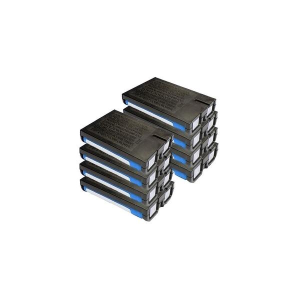 Replacement Panasonic HHR-P107 NiMH Cordless Phone Battery (8 Pack)