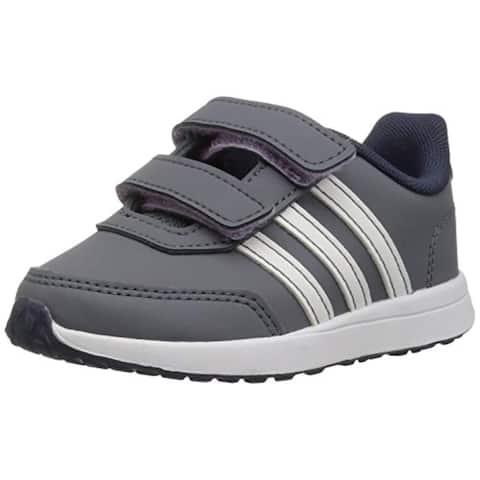 adidas Kids' VS Switch 2 Sneaker, Onix/Cloud White/Trace Blue, 8K M US Toddler