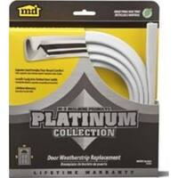 """MD Building 91890 Platinum Collection Replacement Door Weatherstrip, 84"""", White"""