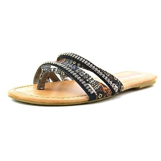 Pink & Pepper Solace Women Open Toe Synthetic Sandals