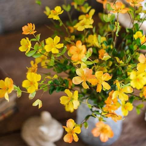 "RusticReach Silk Gaura Flower Stem 28"" Tall"