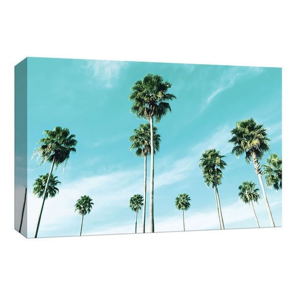 """PTM Images 9-148397 PTM Canvas Collection 8"""" x 10"""" - """"East Coast Palms"""" Giclee Palm Trees Art Print on Canvas"""