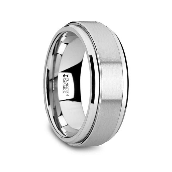Revolution Tungsten Carbide Spinner Ring Spinning Wedding Band