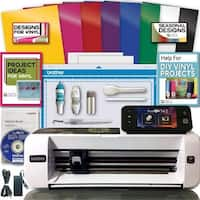 Brother Scanncut 2 Scan N Cut Machine Rainbow Vinyl Transfer Paper Hook Designs