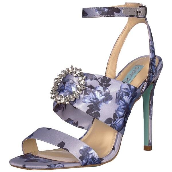ee8f195558022 Blue by Betsey Johnson Women's SB-Scoti Heeled Sandal