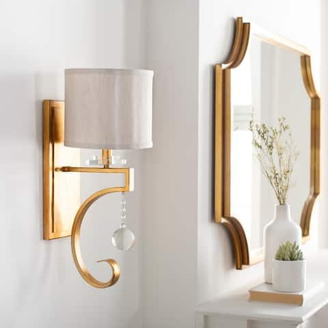 Mcbee Traditional Crystal 1-Light Wall Sconce