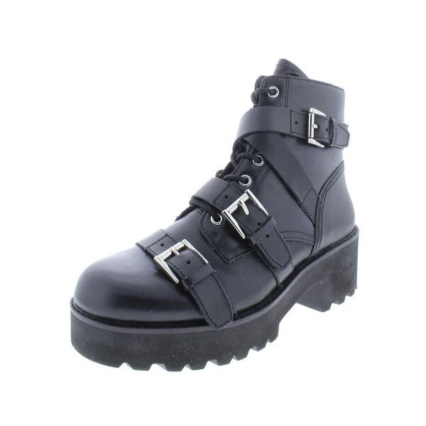 38179e485fe Shop ASH Womens Razor Booties Leather Ankle - 41 (Medium B,M) - Free ...
