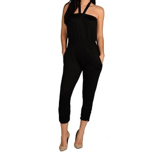 Apple Bottoms Junior Plus Tube Top Jumpsuit