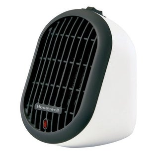 Honeywell HCE100W Heat Bud Ceramic Personal Heater, 853 BTU/hr