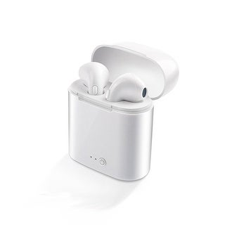 Shop Wireless Bluetooth 5 0 Headphone Earbuds By Indigi Universally Compatible Charging Case Included Overstock 19503403