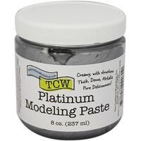 Crafter's Workshop Modeling Paste 8Oz-Platinum