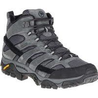 Merrell Men's Moab 2 Mid Waterproof Hiking Boot Granite