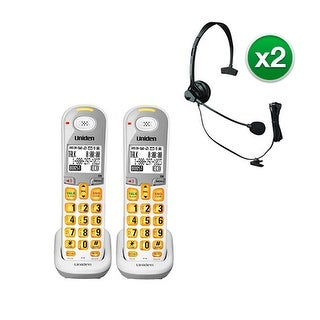 Uniden DCX309-2 with Headset DECT 6.0 Amplified Handset