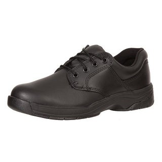 Rocky Work Shoes Womens Slip Stop Oxford Lace Up Duty Black FQ0000234