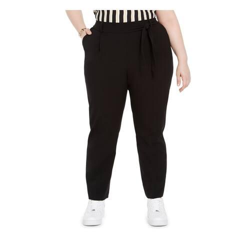 BAR III Womens Black Pants Size 2X