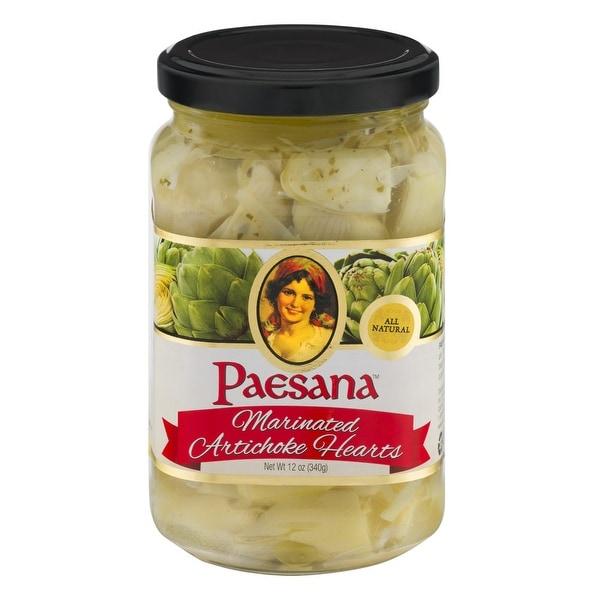 Paesana Artichoke Hearts - Marinated - Case of 6 - 12 oz.