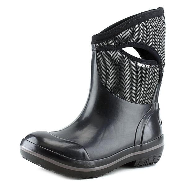 Bogs Herringbone Mid Women Round Toe Synthetic Rain Boot