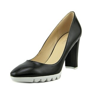 Nine West Edrica   Round Toe Synthetic  Heels