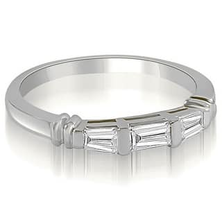 0.25 CT.TW 3-Stone Bar Set Baguette Diamond Wedding Ring - White H-I (Option: 8.75)|https://ak1.ostkcdn.com/images/products/is/images/direct/a509e54d47159ac359da590fdd21a14f7b0ef2d0/0.25-CT.TW-3-Stone-Bar-Set-Baguette-Diamond-Wedding-Ring.jpg?impolicy=medium